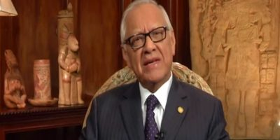 Alejandro Maldonado se despide de los guatemaltecos con este mensaje