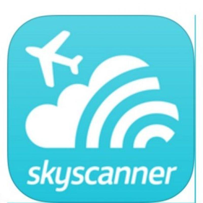 2- Skyscanner. Foto:Skyscanner