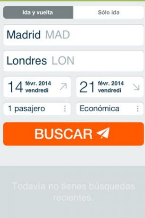 Disponible para iOS y Android. Foto: Liligo Metasearch Technologies S.A.