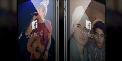 Facebook Mentions, la app exclusiva de los famosos. Foto: Facebook