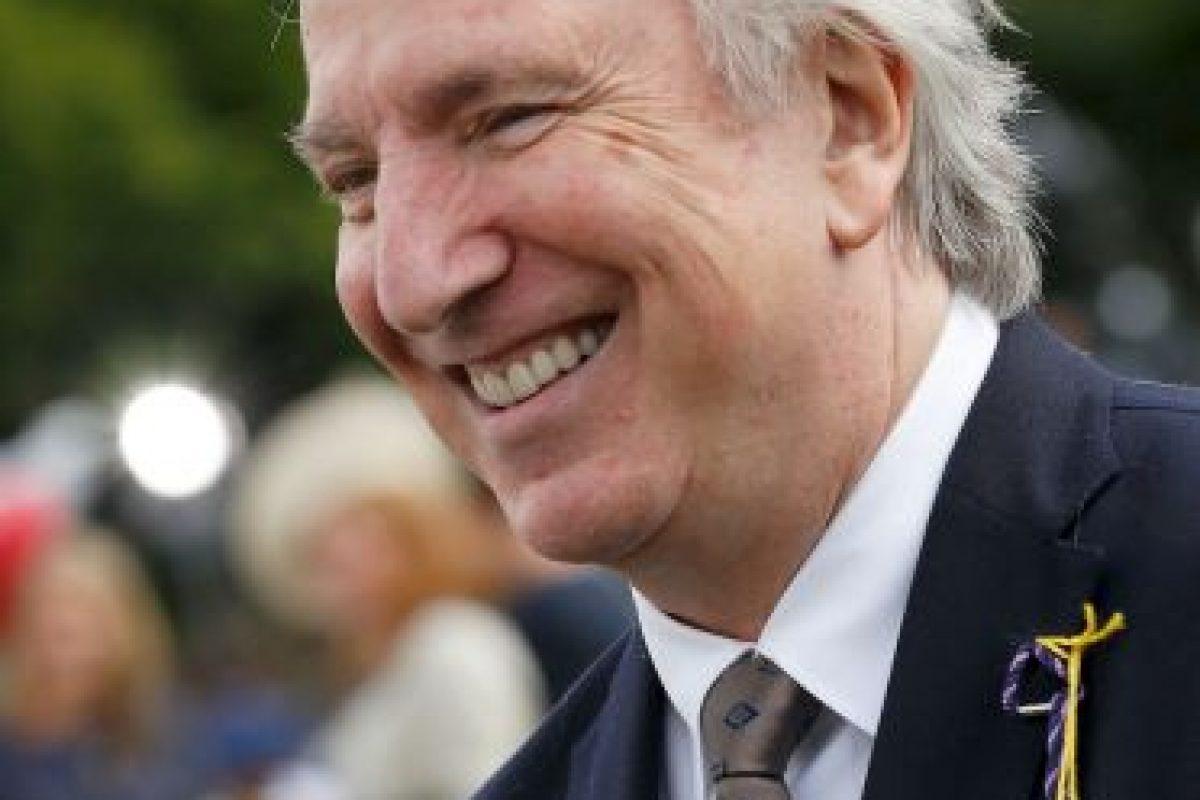 """¡Adiós a un grande! Así cambió Alan Rickman, el """"Profesor Snape"""", con el paso de los años Foto:Getty Images"""