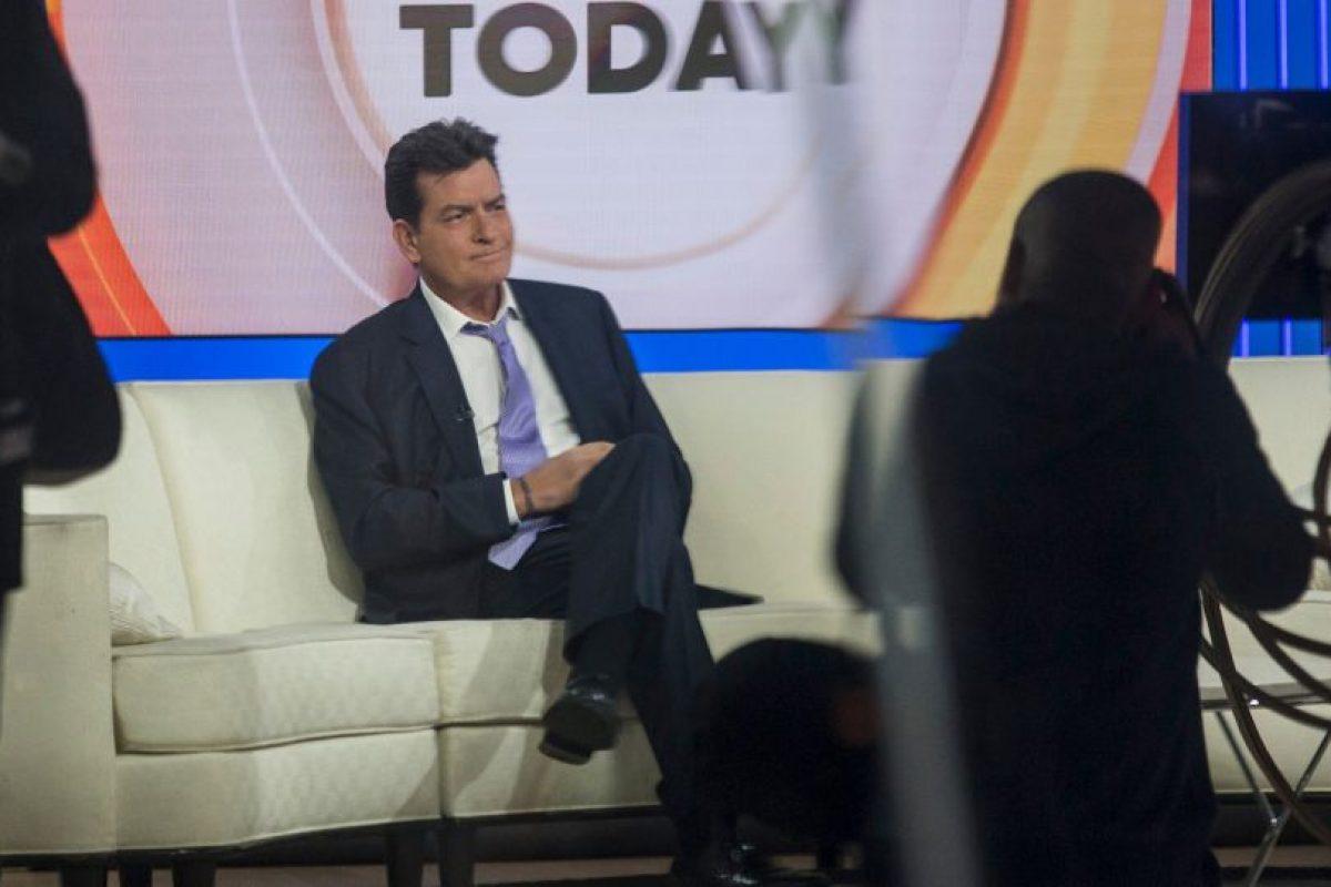 """""""Estoy un poco fuera de juego porque justo antes de entrar me dieron unos resultados decepcionantes"""", expuso Sheen. Foto:Getty Images"""