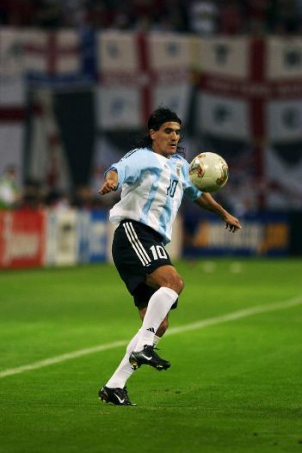 Se trata de Ariel Ortega Foto:Getty Images