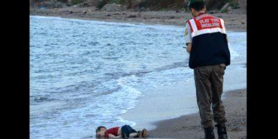Aylan Kurdi era un niño migrante, originario de Siria, que murió ahogado en las costas de Turquía. Foto:AFP