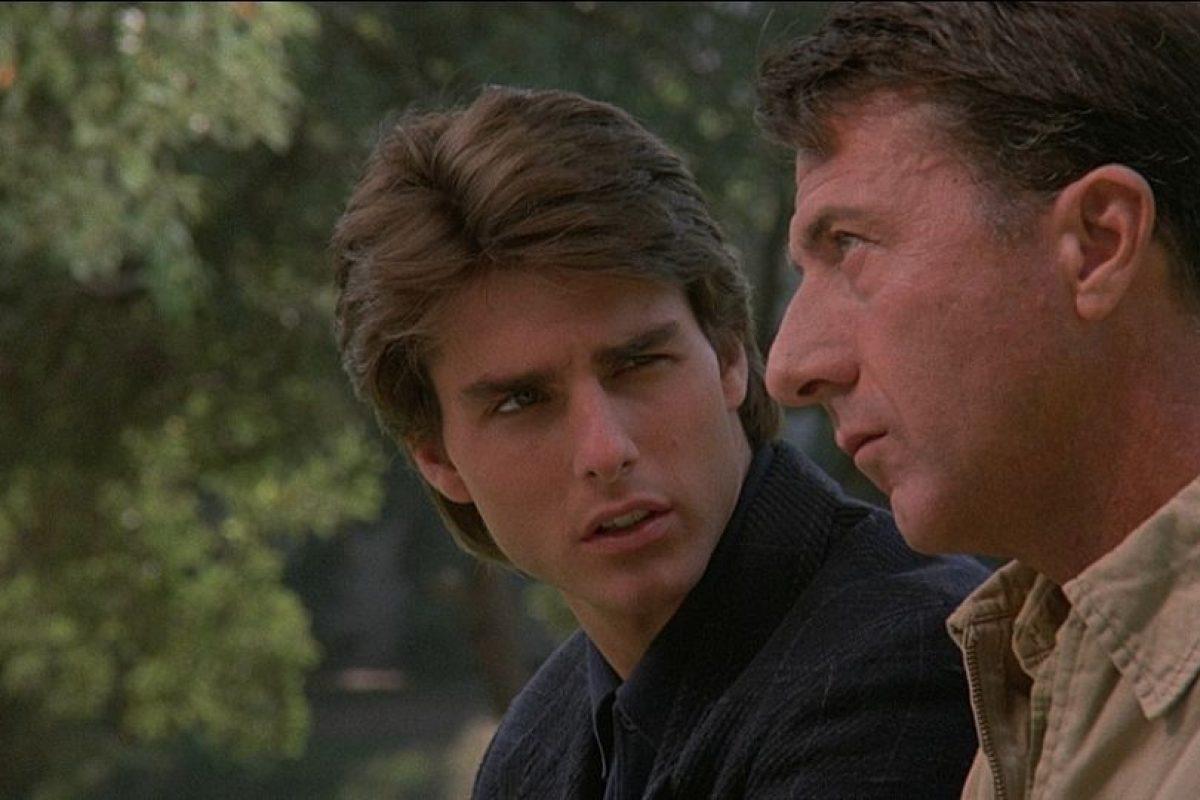 """""""Rain Man"""" o """"Cuando los hermanos se encuentran"""" es una película estadounidense de 1988 que cuenta la historía de dos hermanos: uno exitoso y el otro autista. Obtuvo 4 premios de la Academia incluyendo mejor película. Foto:The Guber-Peters Company"""