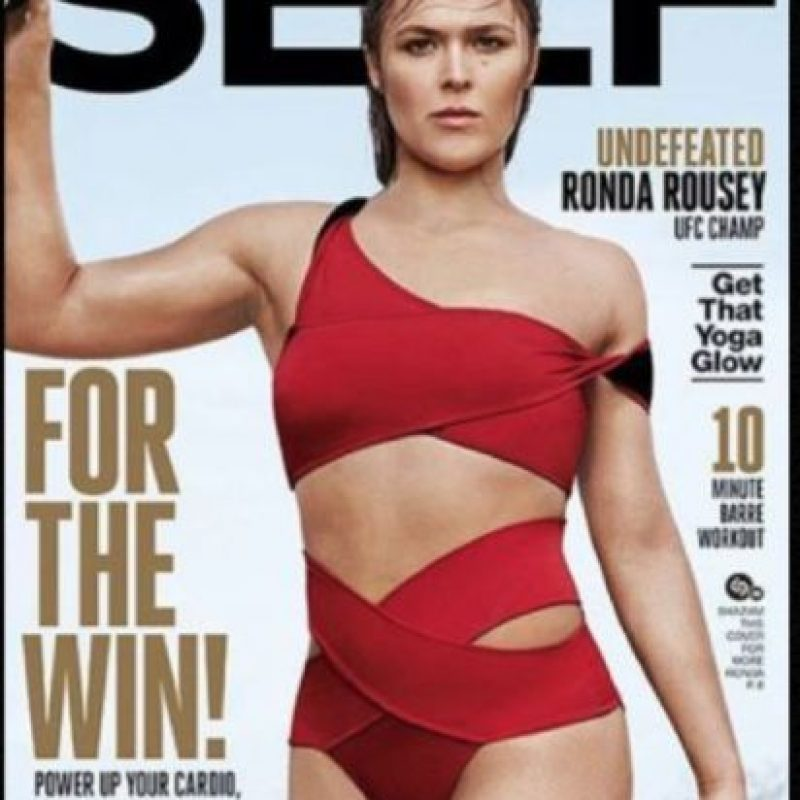 "Ha posado para revistas como ""Self"", ""Maxim"" y ""Sports Illustrated"" Foto: Vía instagram.com/rondarousey"