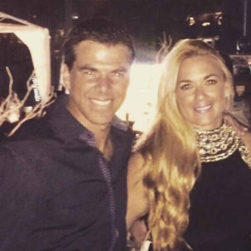 Ella está casada con el exfutbolista mexicano Rafa García Foto:Vía twitter.com/slavolpe