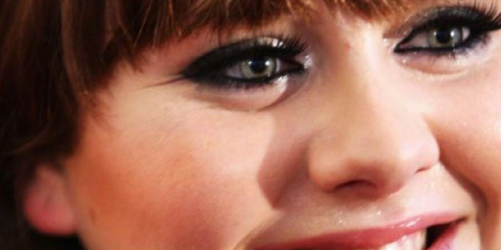 Adele, en sus comienzos, se veía así. Foto:vía Getty Images