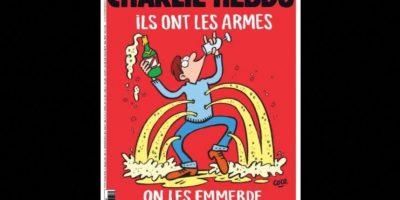 A pesar de la situación, la editorial no ha dejado de hacer sátiras. Foto:Charlie Hebdo
