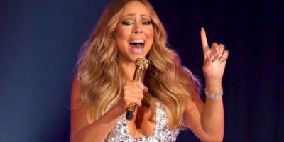Mariah Carey siempre ha tenido una figura rolliza. Foto:vía Grosby Group