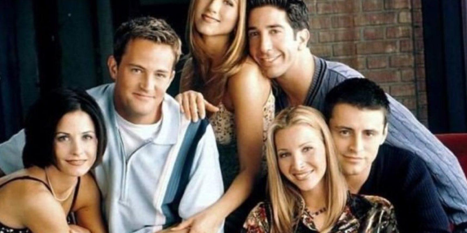 """Friends""Se emitió por primera vez el 22 de septiembre de 1994 por la cadena NBC. Foto:Vía Twitter/@HookedonFriends"