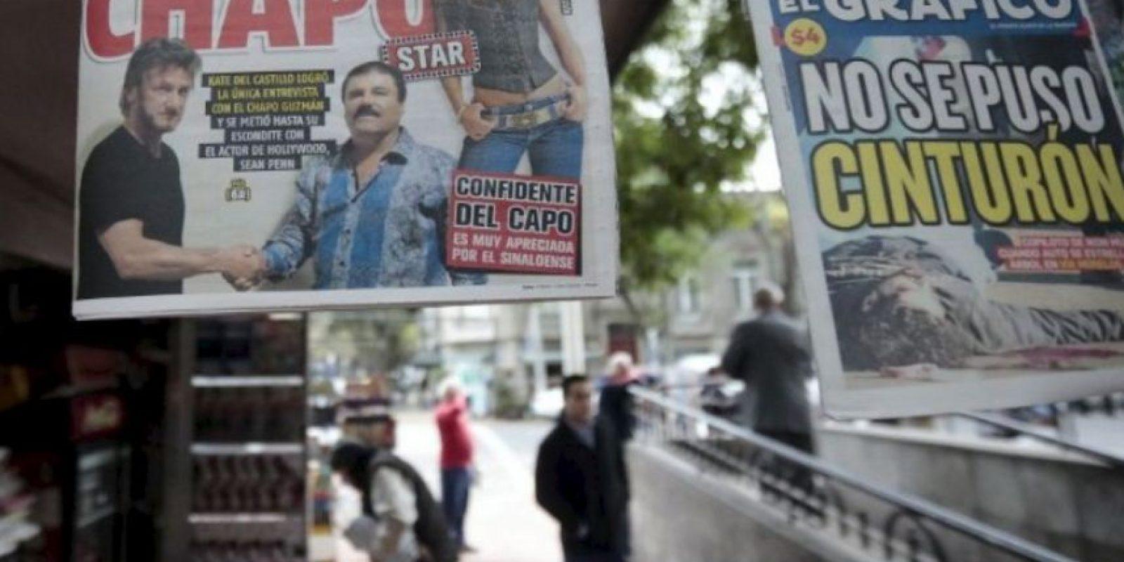 Lograda gracias a las conexiones de la actriz Kate del Castillo Foto:AFP