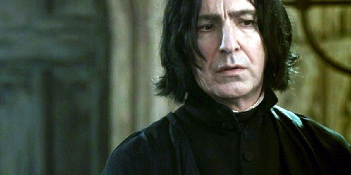 ¡Adiós Profesor Snape! Alan Rickman muere a los 69 años