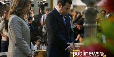 Las mejores imágenes del Tedeum por el nuevo presidente de Guatemala, Jimmy Morales