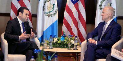 """Exclusiva. Joe Biden: """"Por primera vez, los guatemaltecos pueden ver y creer que nadie está sobre la ley"""""""