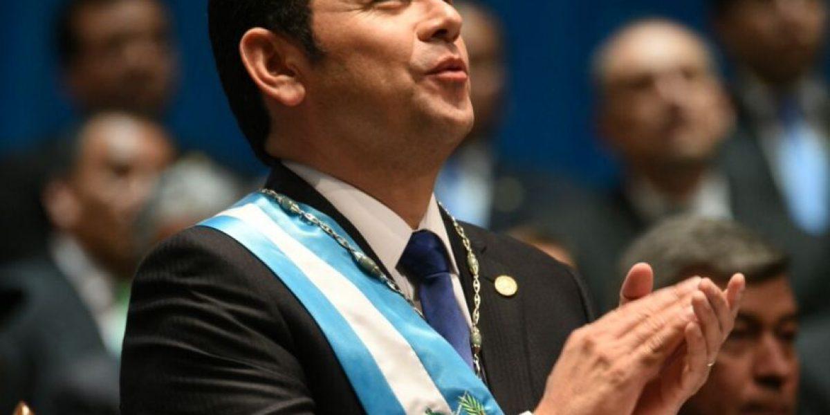 El milagro que Jimmy Morales pidió para Guatemala