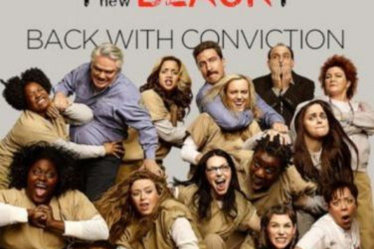 3- Orange Is The New Black (Tres temporadas). Foto:Netflix