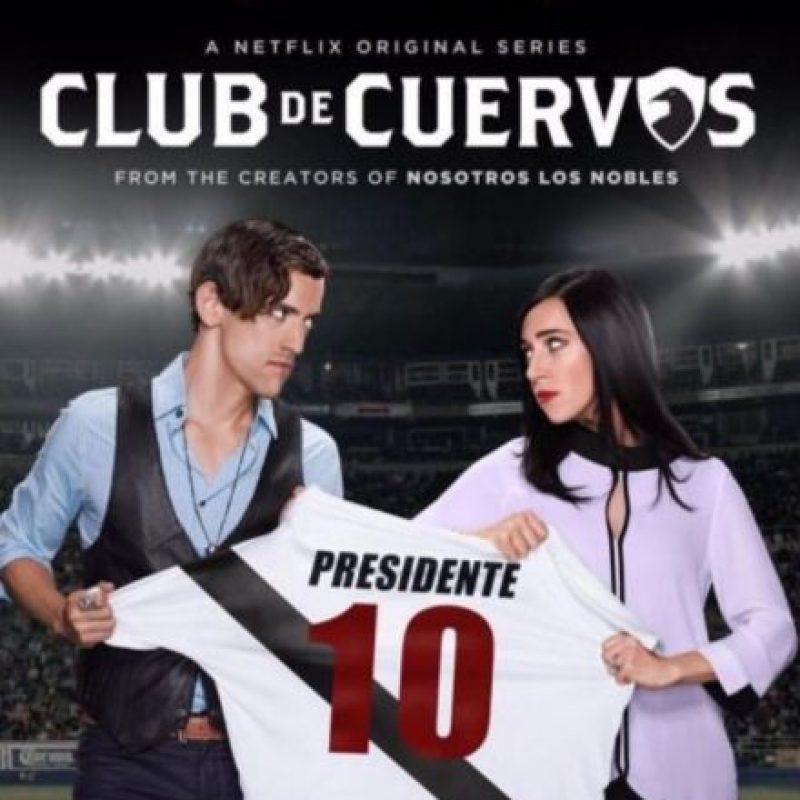 4- Club de Cuervos (Una temporada). Foto:Netflix