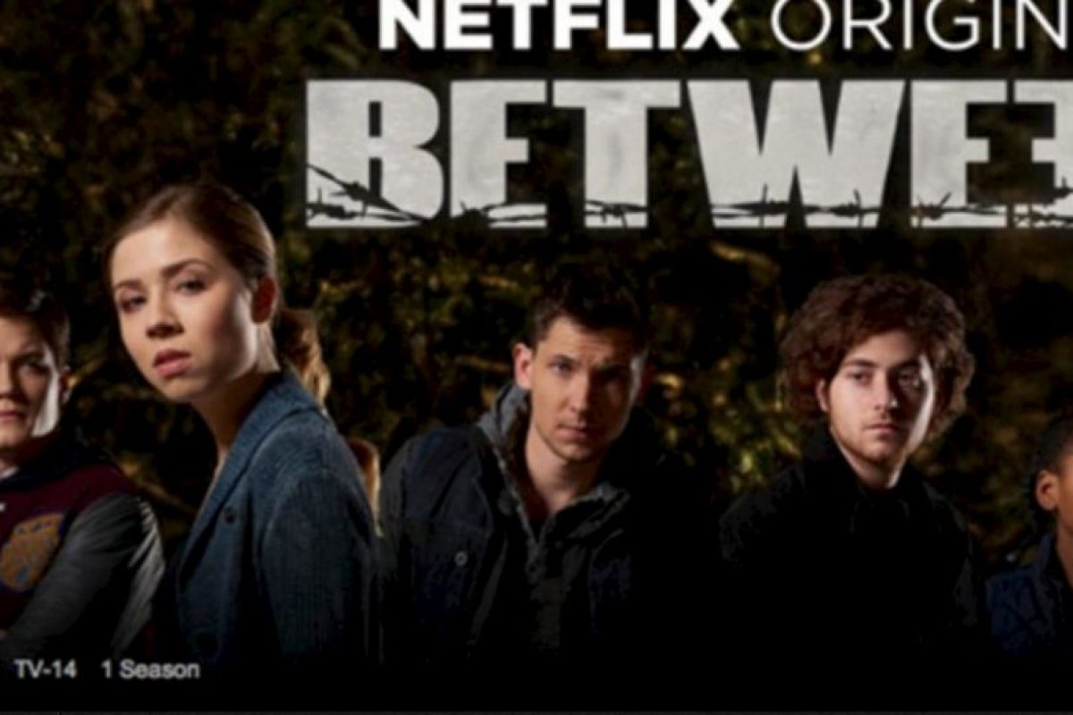 10- Between (Una temporada). Foto:Netflix