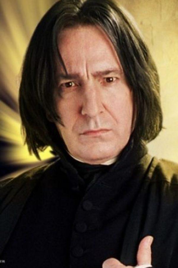 """En 2011, el actor que interpretó al profesor """"Severus Snape"""" en """"Harry Potter"""" realizó una nostálgica carta de agradecimiento a la escritora al finalizar su papel en la saga Foto:Warner Bros"""