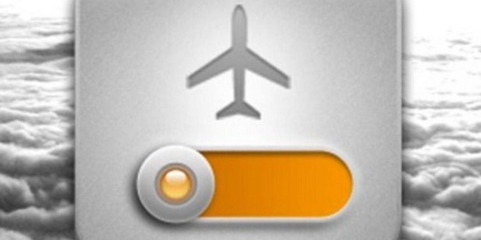 Automáticamente se desconectan las redes 3G, Wi-Fi y Bluetooh, con lo que se consume menos batería y tienen un mayor rendimiento. Foto:vía Pinterest.com