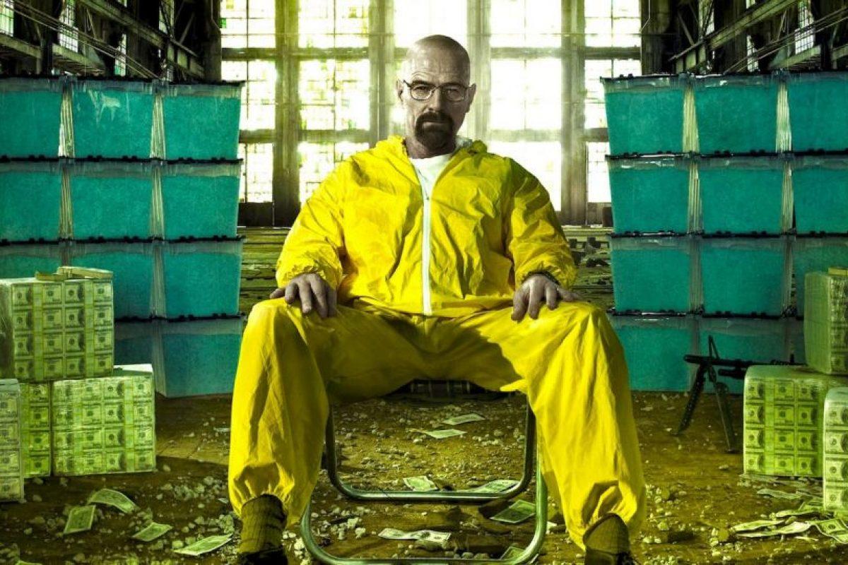 Un profesor de química de escuela secundaria recurre a la venta de drogas para mantener a su familia. Foto:vía Netflix