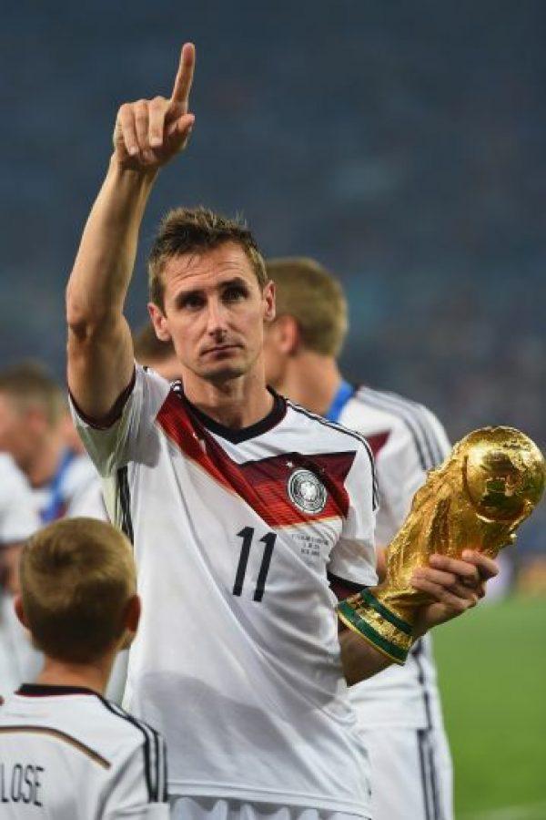 Se retira como el máximo anotador en la historia de los Mundiales Foto:Getty Images