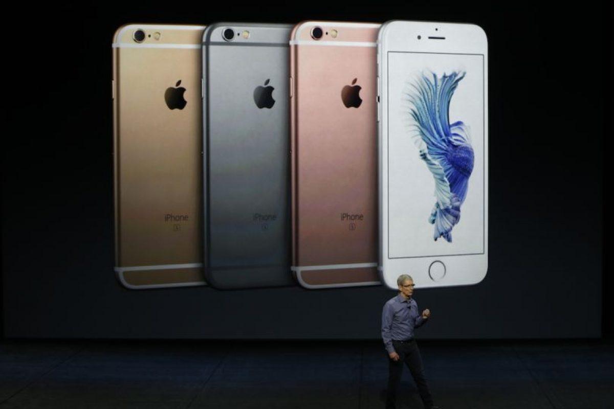 49 gramos es más pesado el iPhone 6s Plus: tiene 192 gramos por los 143 gramos del iPhone 6s. Foto:Getty Images