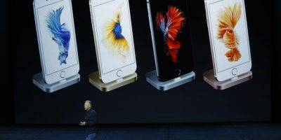 La batería del iPhone 6s Plus con 2.915 mAh es mucho más potente que la del iPhone 6s al ser de 1.715 mAh. Foto: Getty Images