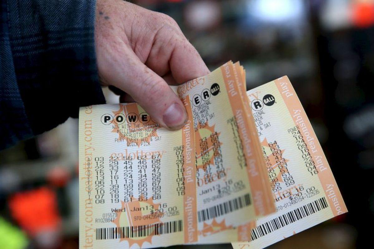 La mujer había comprado su boleto en Pomona, California Foto:Getty Images