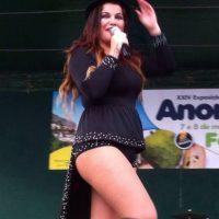 """Katia es una cantante portuguesa, que es más reconocida por ser la hermana de """"CR7"""" Foto:facebook.com/OfficialKatiaAveiro"""