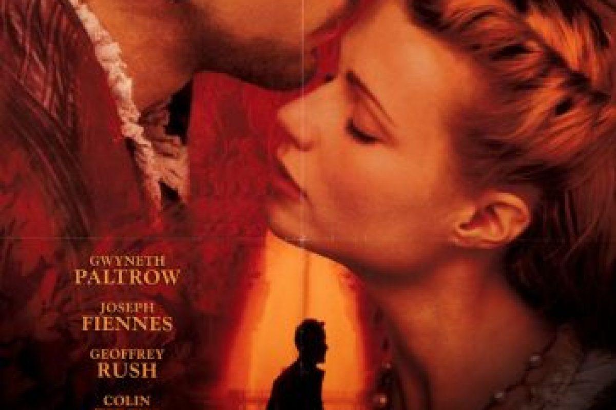 """5. """"Shakespeare enamorado"""" (1998) Se hizo acreedora a siete premios en sus 13 nominaciones. Foto:Vía Tumblr"""
