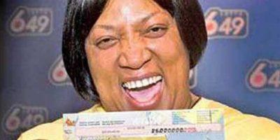 Evelyn Adams ganó casi 6 millones de dólares con los que decidió viajar a Atlantic City y perderlo en apuestas Foto:vía Pinterest