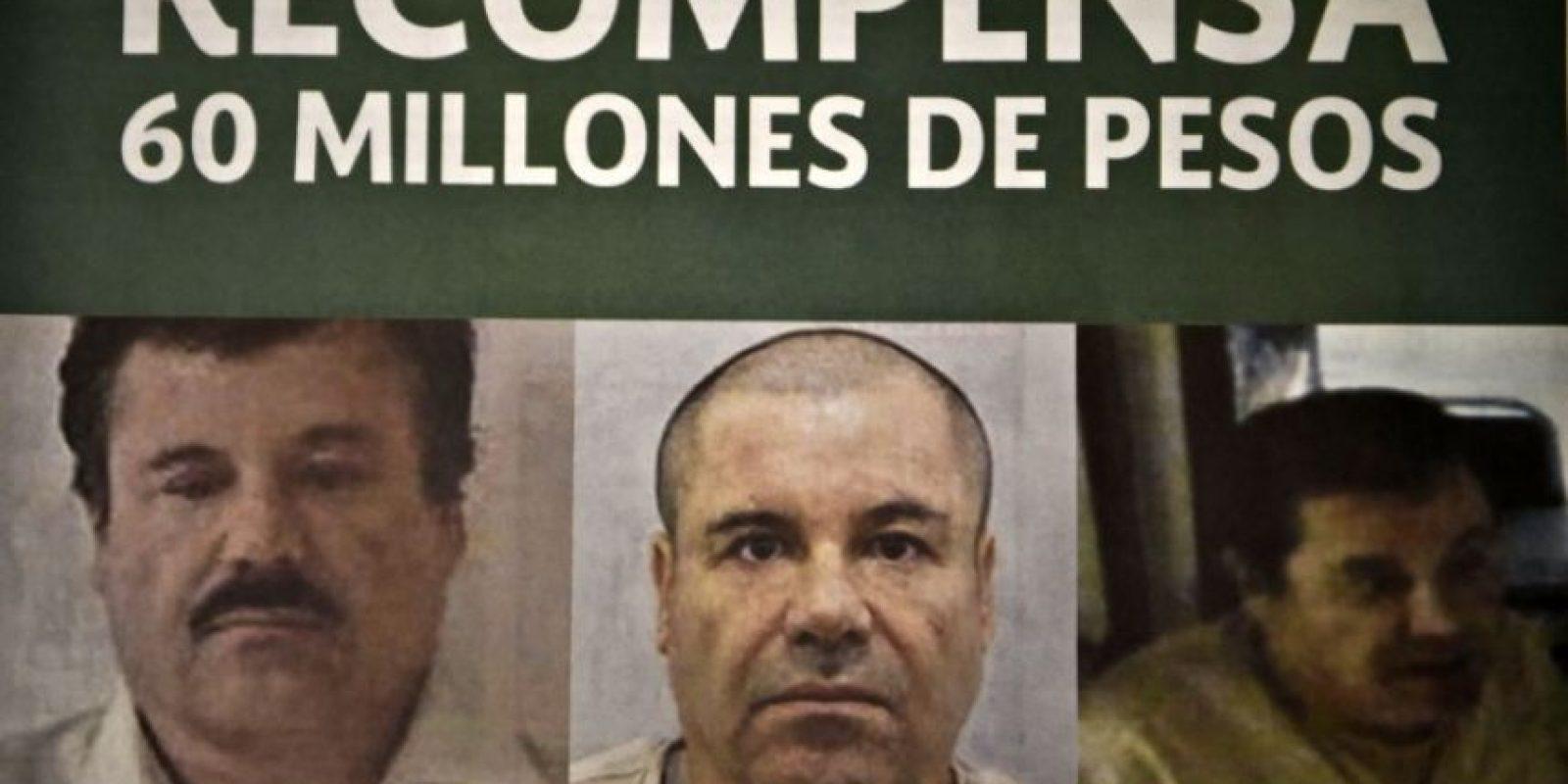 """Hacia finales de la década de los ochenta, funda el """"Cártel de Sinaloa"""" Foto:AFP"""