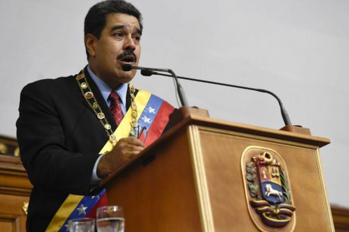 Es un decreto constitucional fundamentado en el artículo 338 de la carta magna de Venezuela Foto:AFP