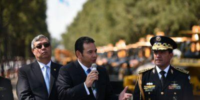 La primera orden de Jimmy Morales al Ejército de Guatemala