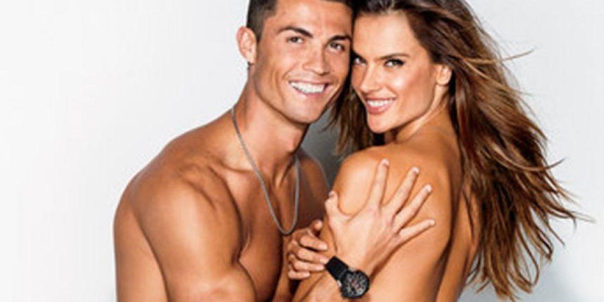 Las sensuales fotos de Cristiano Ronaldo y la codiciada modelo Alessandra Ambrosio