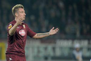 19 de marzo de 2015: López ya defendiendo los colores del Torino. Bien, 10 puntos físicamente. Foto:Getty Images
