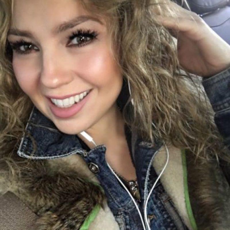 """""""A los que me han estado preguntando cómo se logra seguir así, la respuesta no es nada nuevo"""", expuso Thalía en su cuenta de Instagram. Foto:Vía Instagram/@thalia"""