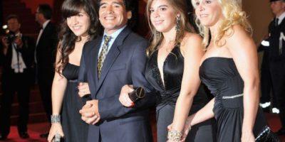 A cntinuación, las mujeres de Diego Maradona Foto:Getty Images