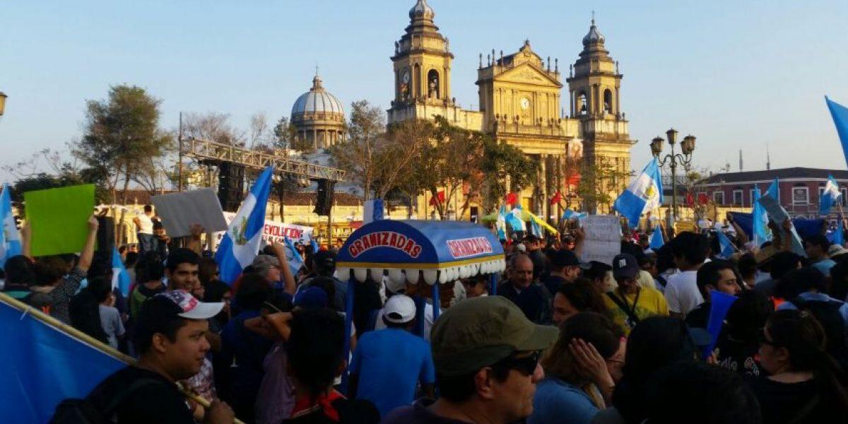 Primera manifestación del 2016 le dice al Gobierno #EstamosAquí