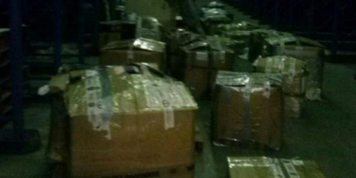 MP detecta defraudación aduanera en contenedor