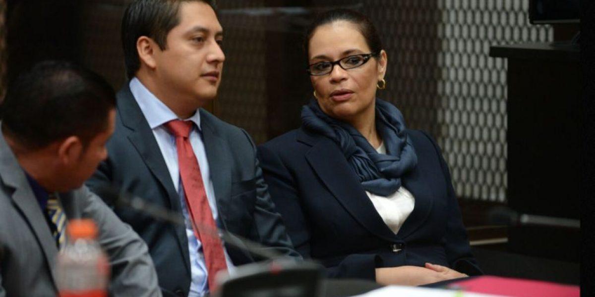 Juez ordena regresar a cárcel a ex vicepresidenta Roxana Baldetti