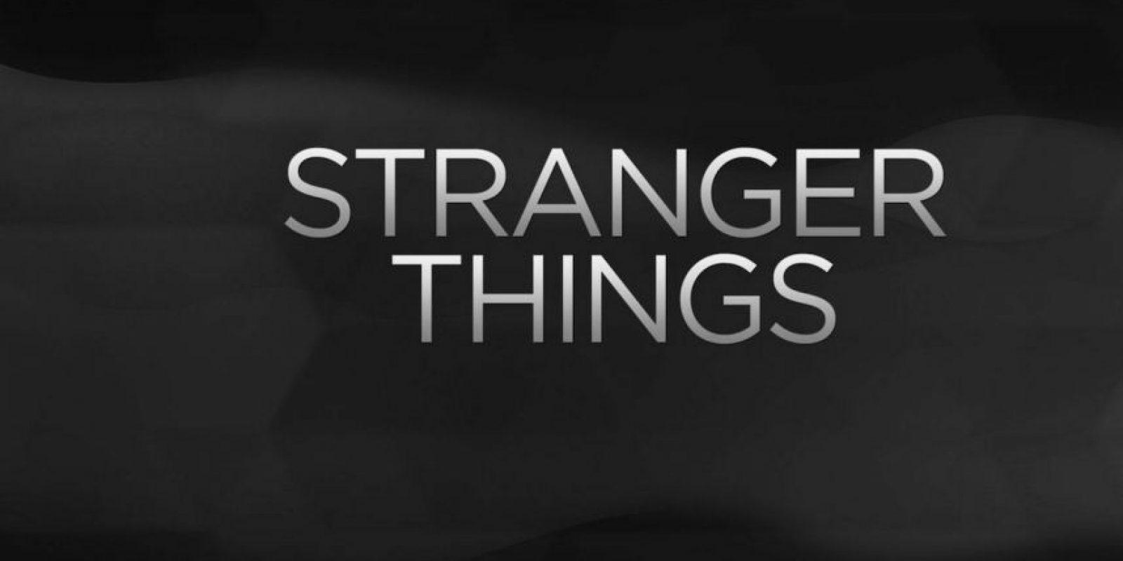 """""""STRANGER THINGS"""". Primera temporada disponible a partir del 15 de julio. Foto:Netflix"""