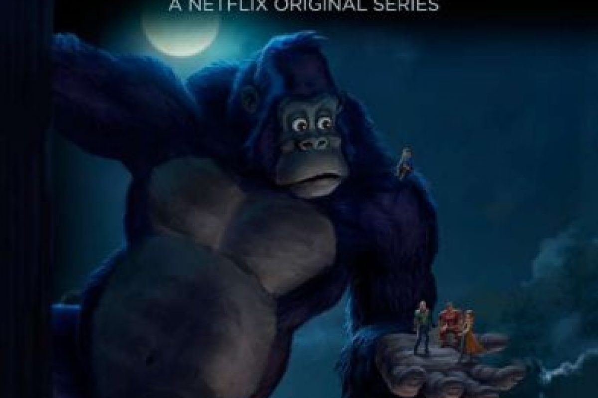 """KONG: KING OF THE APES"". Primera temporada disponible a partir del 15 de abril. Foto: Netflix"