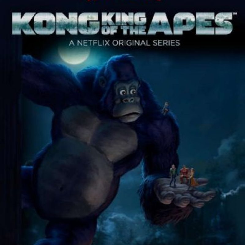 """""""KONG: KING OF THE APES"""". Primera temporada disponible a partir del 15 de abril. Foto:Netflix"""