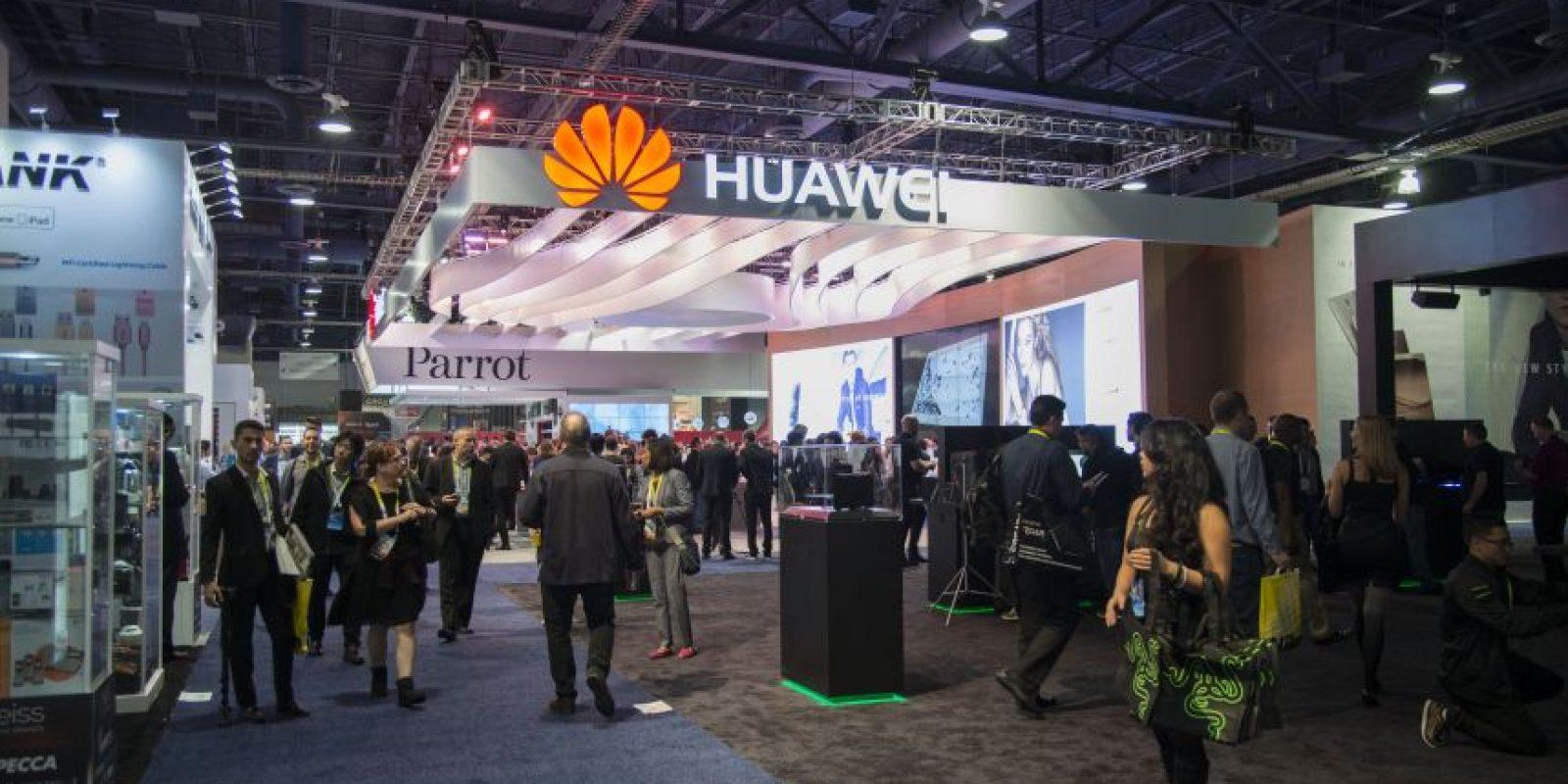 Huawei participó en el Consumer Electronic Show 2016 (CES) Foto:LUIS CARLOS NÁJERA