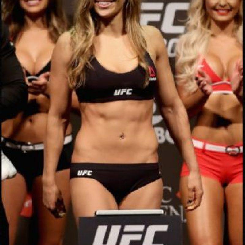 Fue captada entrenando lucha libre, ¿aparecerá en el próximo Wrestlemania? Foto:Getty images