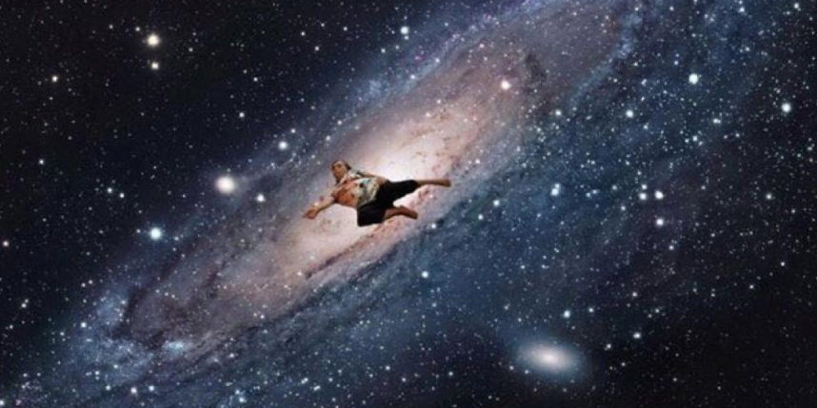 Hasta en el espacio Foto:Vía Facebook