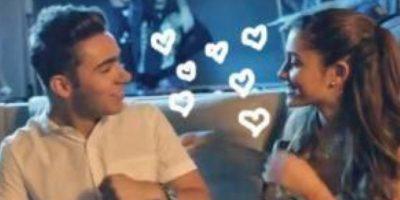 Tiernos momentos entre Ariana Grande y Nathan Sykes Foto:Vía Twitter